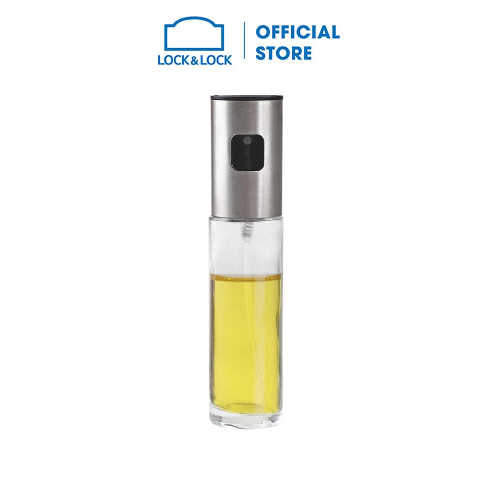 CKO109 - Bình xịt dầu ăn kèm phễu và cọ rửa Lock&Lock, 100ml - Lock&Lock  Mall